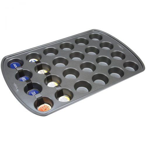 Wilton 2105-6819 Molde para cupcakes 24 cavidades, antiadherente